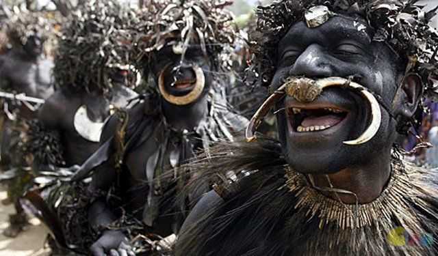 The sambia Tribe initiation from boyz to men